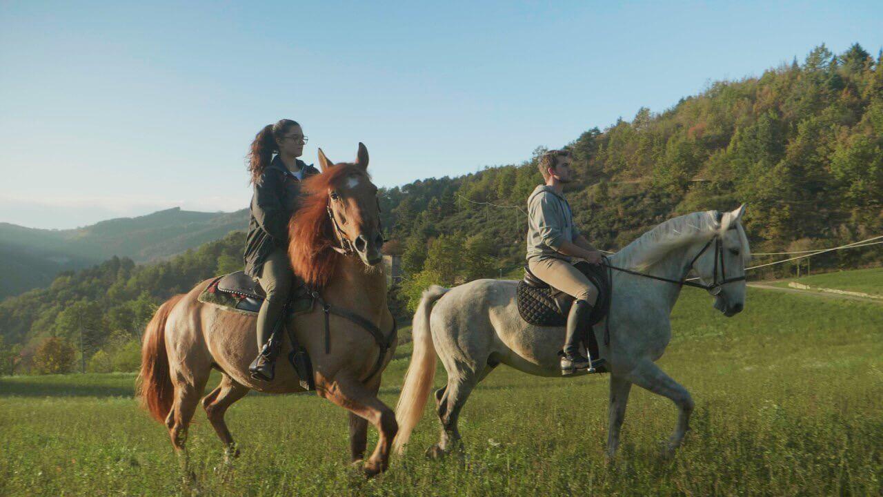 Horseback riding in Langa!