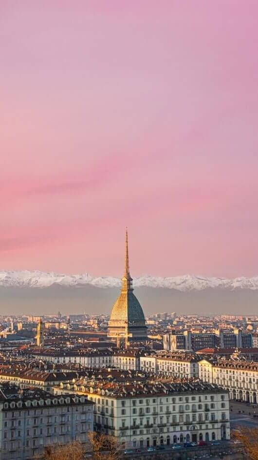 panoramic view Torino