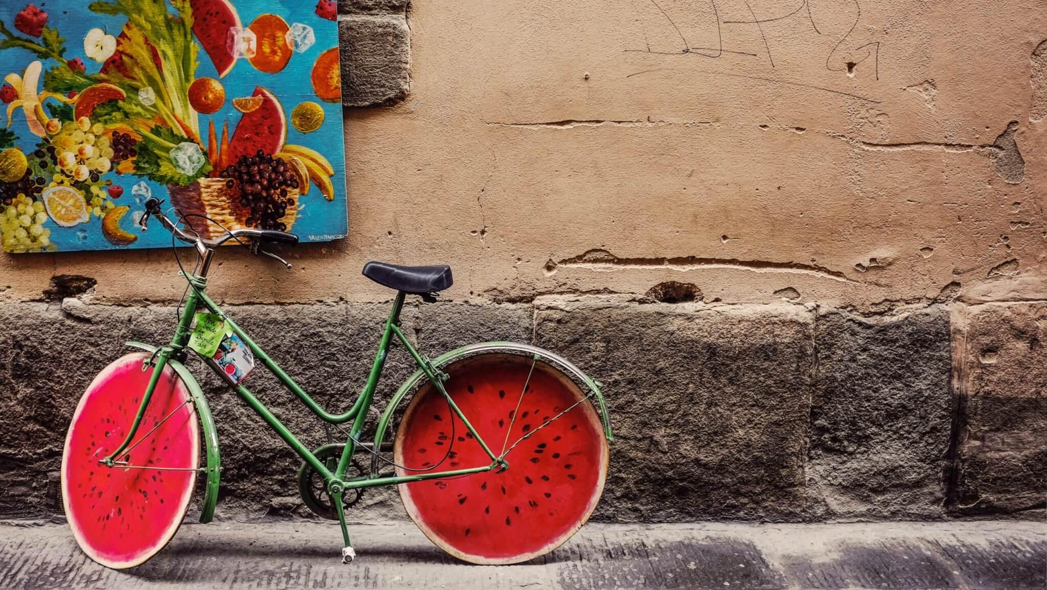 biking outdoor